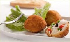 arancini, storia arancini,antipasti, riso, compatte, ricette regionali, gastronomia sicilia